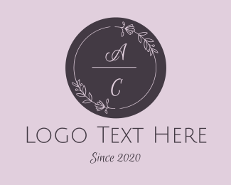 Wedding  Wreath  Logo