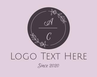 Wedding - Wedding  Wreath  logo design