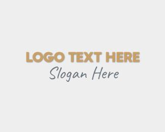 Estate - Real Estate Wordmark logo design