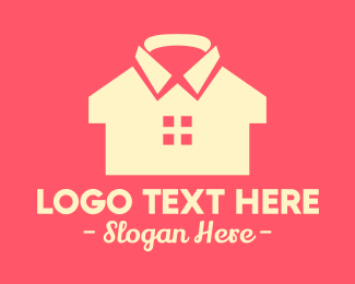 Polo Shirt - Clothing Shirt House logo design