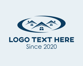 Home Rental - Realty Home Subdivision  logo design