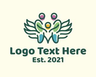 Child - Angel Child Family logo design