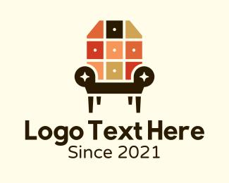 Interior - Interior Design Armchair logo design