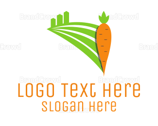 Carrot - Carrot Field logo design