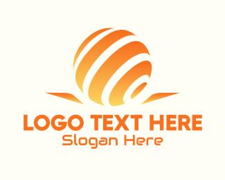Company - Global Tech Company logo design