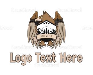 Cross Country - Griffin Mascot logo design