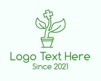 """Green Cross Medicine Plant"" by SimplePixelSL"