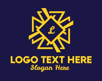 Decorative - Decorative Star Lettermark logo design