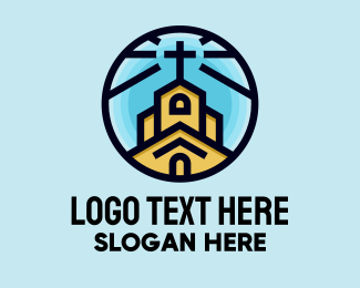 Church - Catholic Christian Church logo design