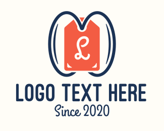 Item - Price Tag Lettermark logo design