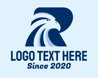 Sports - Falcon Letter R  logo design