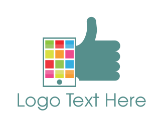 Online Learning - Phone Approval logo design