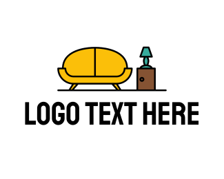 Living Room - Sofa Living Room Furniture logo design