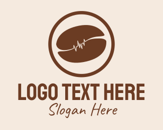 Playlist - Brown Coffee Bean Farm  logo design