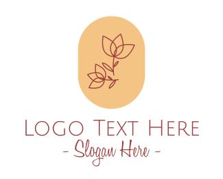 Detailed - Minimalist Rose Emblem logo design