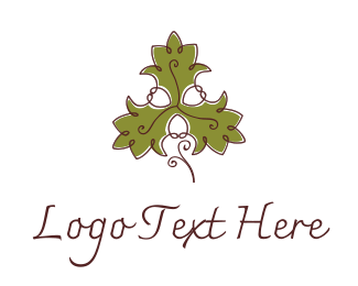 Fancy Maple Leaf Logo