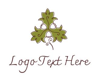 Olive - Fancy Maple Leaf logo design