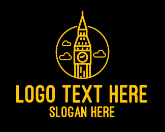 Big - Big Ben Clock logo design