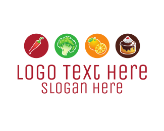 Food - Food Options logo design