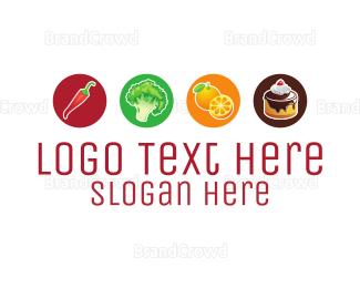 Cupcake - Food Options logo design