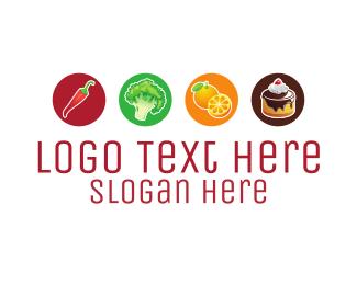 Eating - Food Options logo design