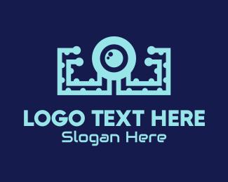 Octopus - Tech Octopus logo design