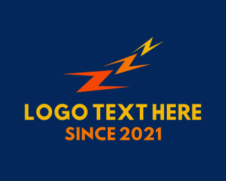 Lightning - Triple Z logo design