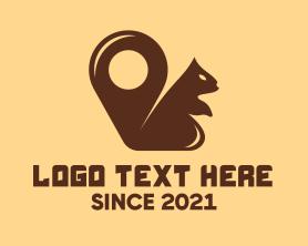Locator - Squirrel Locator logo design