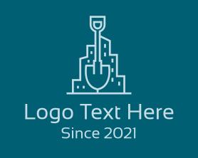 Buildings - Shovel City Buildings logo design
