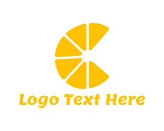 Slice - Lemon Slices logo design