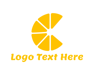 Tangerine - Lemon Slices logo design