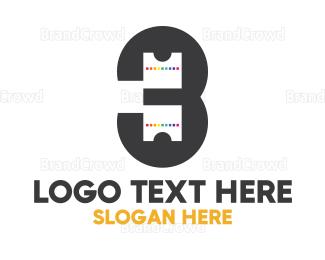 Animation - Pixel Tech Number 3 logo design