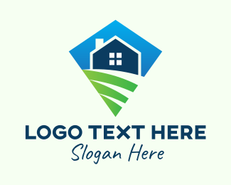 Subdivision - Diamond Rural Home logo design