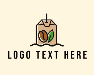 Green Tea - Coffee & Tea Bag  logo design