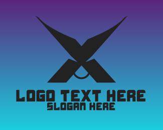 Meat - Black X Bull logo design