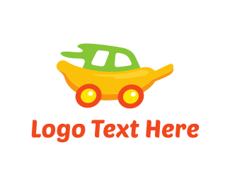 Yellow Banana - Yellow Banana Car logo design