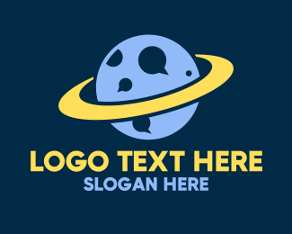Planetary - Galactic Planet Talk logo design