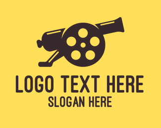 Cannon - Film Cannon logo design