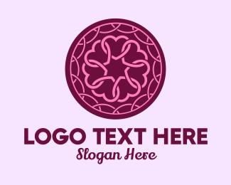 Detailed - Fancy Detailed Heart logo design
