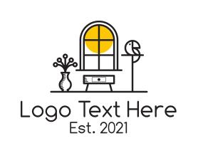 Interior - Home Interior Design logo design