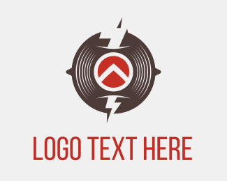 Disk - Thunder Circle logo design