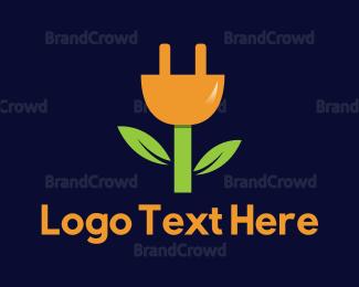 Electrical Supplier - Eco Plug logo design