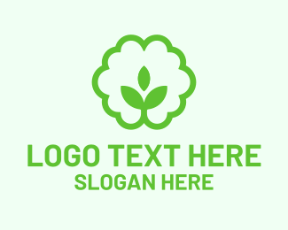 Soil - Green Plant Seedling logo design