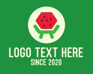 Fresh Fruit - Fresh Watermelon Furniture logo design