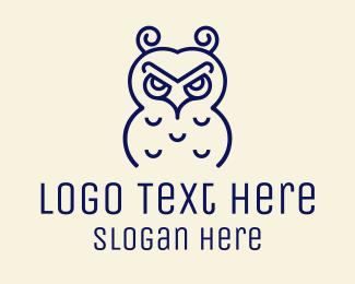 Mascot - Furious Owl logo design