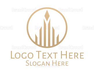 Condo - Luxurious Building logo design