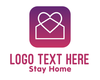 Stay Home - Stay Home App logo design