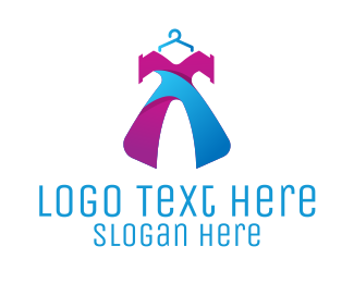 Second Hand - Fashion Dress logo design
