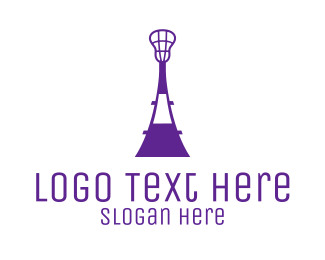 Lacrosse - Lacrosse Tower logo design