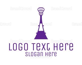 Crosse - Lacrosse Tower logo design